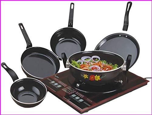 Nonstick Bottom Cookware Set-Kitchentop