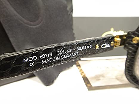 819a906e0ce5 Cazal 607 3 Sunglasses 607 Leather Legend Black (601) Authentic New   Amazon.co.uk  Clothing