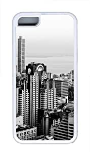 The Future Of The City Custom iPhone 5C Case Cover TPU White