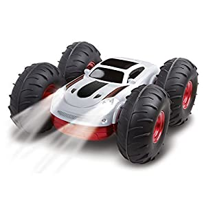 Toys for Kids | The Black Series RC Flip Stunt Rally with Remote Controller