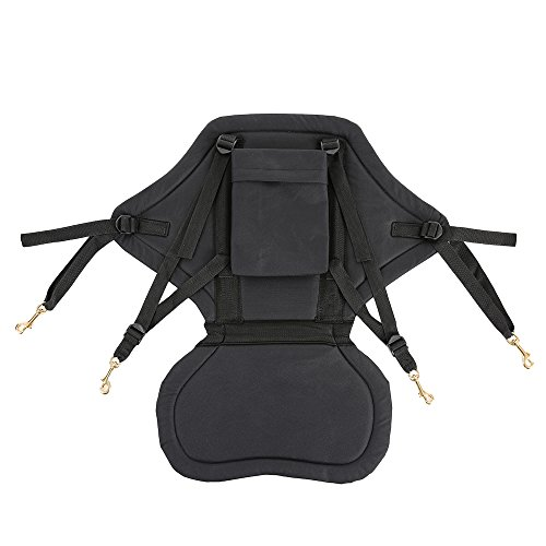 Adjustable Padded Kayak Divering Drifting Fishing Seat Paddle Extreme Acessories Boat Canoe Backrest Tracking by The Single Mom