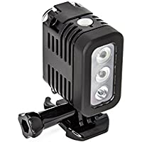 SSE Waterproof Diving Light High Power LED Light Underwater Light for GoPro HERO5 Black, HERO5 Session, HERO4 Black, HERO4 Silver, HERO3+ Black, HERO3+ Silver, HERO, HERO+, HERO+ LCD, HERO Session