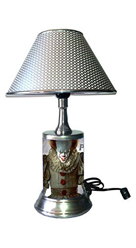 JS Pennywise Lamp with Chrome Shade, Movie IT