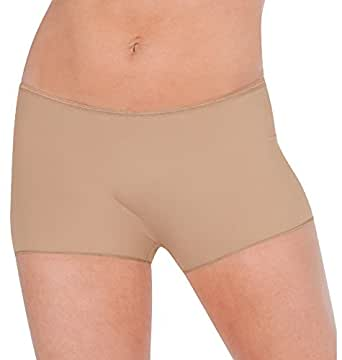 Body Wrappers Hot Shorts, Nude, X-Small