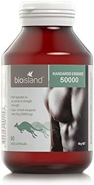 Bioisland Essence Kangaroo 50000 max 90 Vege Capsules Made in Australia