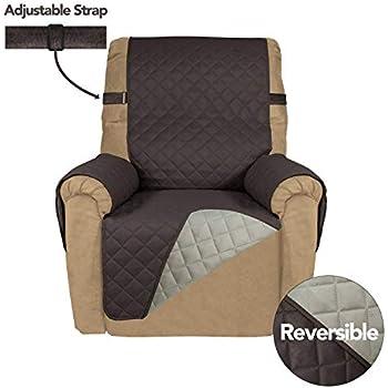 Amazon Com Purefit Reversible Quilted Recliner Sofa Cover