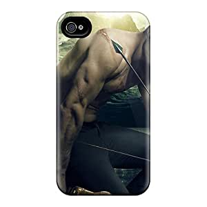 For Iphone 4/4s Premium Tpu Case Cover Oliver Queen Green Arrow Protective Case