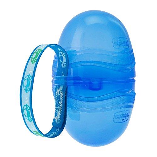 Chicco 2er Schnullerbox, blau