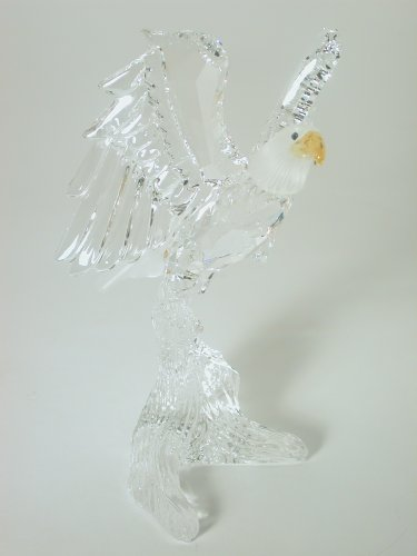 Swarovski Crystal Figurine #248003, Bald Eagle, Retired
