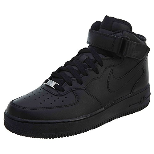 Nike Air Force 1 White - Nike Air Force 1 Mid '07 Black