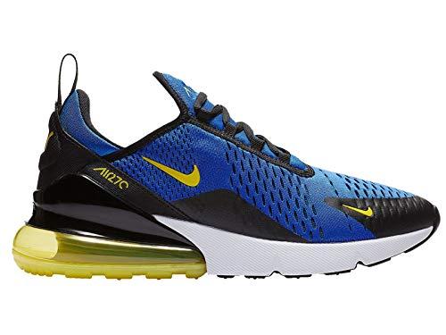 (Nike Mens Air Max 270 Running Shoes (10.5 M US, Game Royal/Dynamic Yellow))