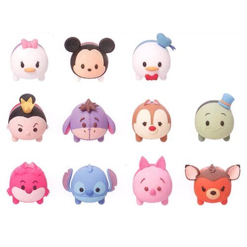 Disney Tsum Tsum Series 2 3-D Figural Key Chain 6-Pack