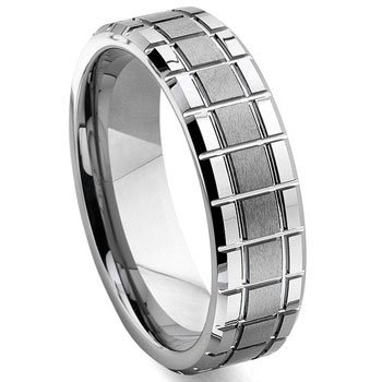 Eric Designs Tungsten Matrix Wedding Band Ring Sz 11.5 - Wedding Band Matrix Titanium
