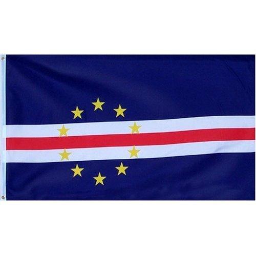 Cape Verde Flag Polyester 3 ft. x 5 ft. (Cape International)