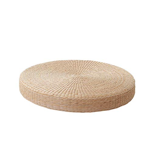 RXY-Wicker chair Japanese-Style Thick Hand-Made Futon Meditating Meditation Window Tatami Cushion (Size : 50cm) by RXY-Wicker chair (Image #3)