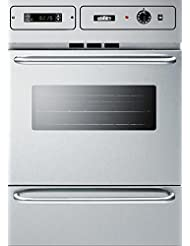 Summit TEM788BKW Kitchen Cooking Range, Stainless Steel