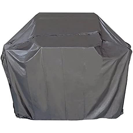 ICOVER 65 Inch Heavy Duty Water Proof Patio Outdoor Black BBQ Barbecue Smoker Grill Cover G11603 For Weber Char Broil Brinkmann Holland And JennAir