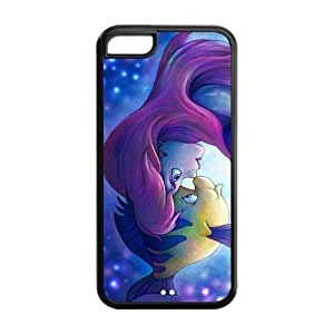 Fun Case (TM) Princess Ariel The Little Mermaid For HTC One M7 Phone Case Cover over case