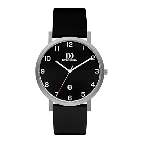 Danish Design Men's IQ13Q1107 Black/Black Titanium Watch