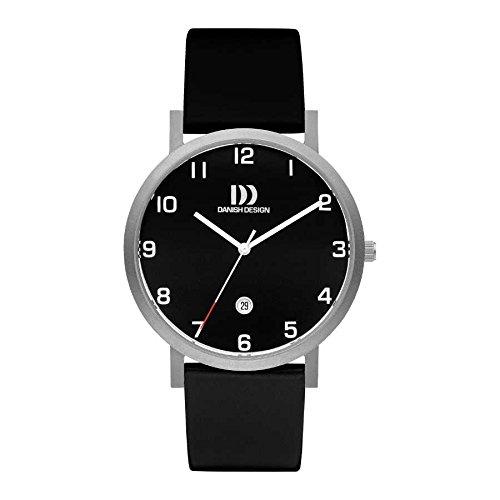 Danish Design Men's IQ13Q1107 Black/Black Titanium Watch