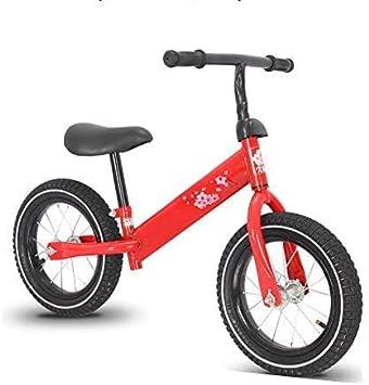 Zhihao Bike Balance del niño Bicicleta de Entrenamiento Durante 18 Meses 2 3 4 5 años for niños Colores Frescos Empuje Las bicis de 12