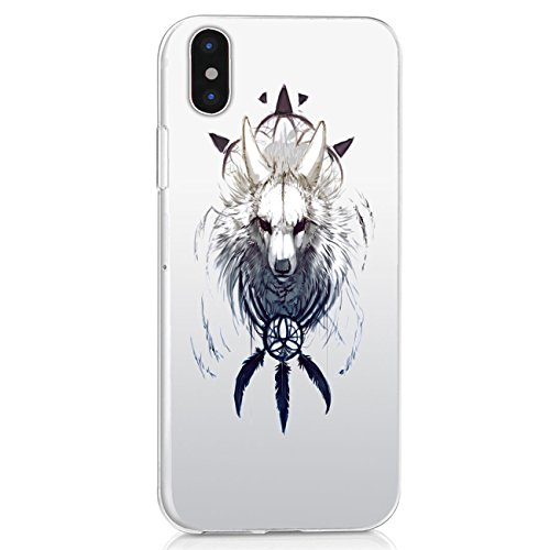 Price comparison product image Beryerbi Ultra Thin Soft TPU Transparent iPhone X Case Protection Cover for Apple iPhone X - Crystal Clear (1, iPhone X)