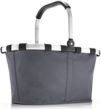 reisenthel Carrybag Fabric Picnic Tote, Sturdy Lightweight Basket for Shopping and Storage
