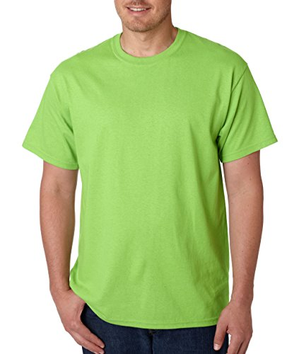 G5000 Gildan Adult Heavy Cotton T-Shirt - Lime - Medium