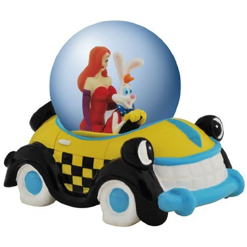 Westland Giftware Water Globe Figurine, 65mm, Disney Roger Rabbit Road Trip