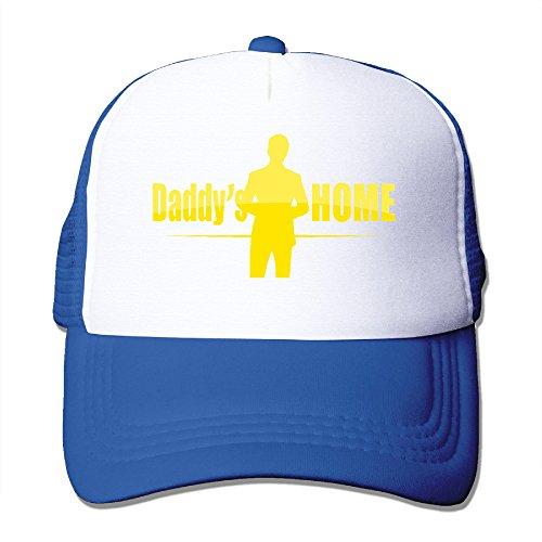 Custom Adult Flat Billed Daddy's Home Sun Caps Hat - Ambrosio Linda