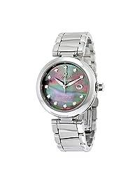 Omega De Ville Ladymatic Automatic Diamond Ladies Watch 42530342057004