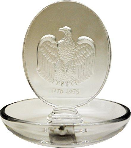 - Lalique Crystal Eagle Pin Tray
