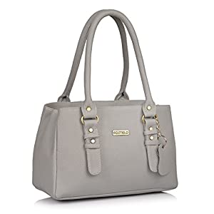 Fostelo Women's Westside Handbag (Grey) (FSB-1237)