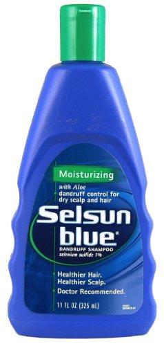 Selsun bleu pellicules Shampooing Hydratant 11 oz (Pack de 2)
