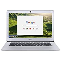 Acer CB3-431-C0AK 14-inch 1920X1080 Aluminum Chromebook Intel Celeron N3160 (1.60 GHz) 4 GB LPDDR3 Memory 32GB Flash SSD Chrome OS (Recertified)