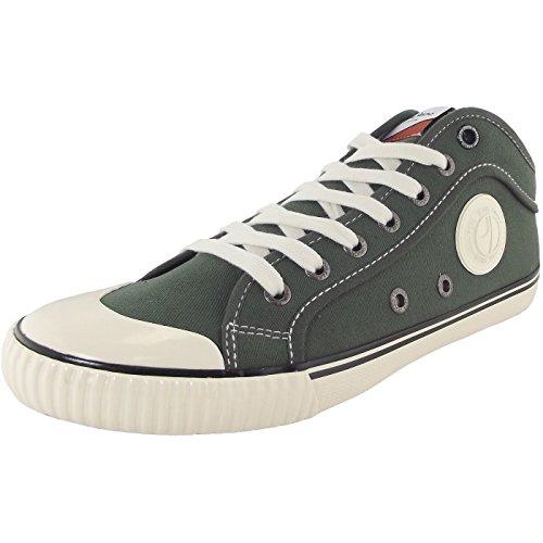 Pepe Jeans London Herren Industry 1973 Sneaker olivgrün (stout)