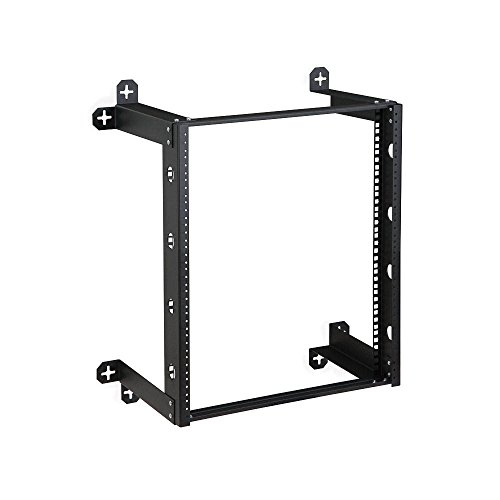 V Line Fixed Wall Rack, 12U (Fender Luggage Rack)