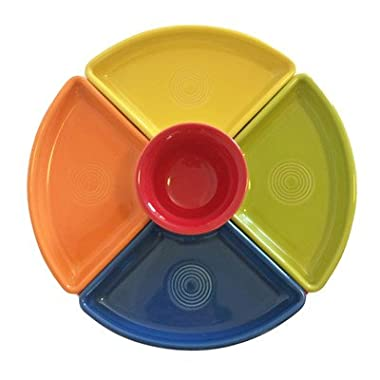5 Piece Bowl Set Color: Sunflower/Tangerine/Lemongrass/Lapis/Scarlet