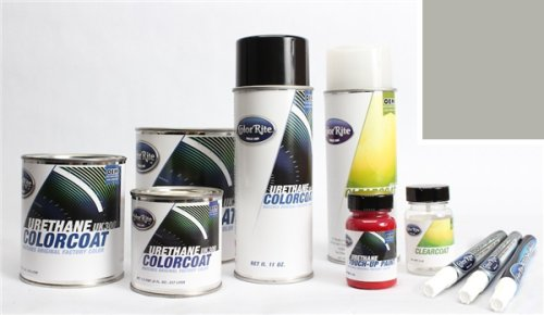 ColorRite Pen Automotive Touch-up Paint for BMW 5 - Silver Grey Metallic Clearcoat A08 - Color+Clearcoat Package