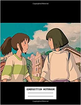 Composition Notebook Spirited Away Japan Anime No Face Manga School Supplies Journal 7 5 X 9 25 In 110 Pages Anime Kawaii 9781687642134 Amazon Com Books