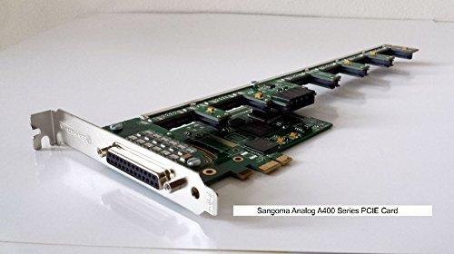 Sangoma A40302E 6FXS 4FXO analog card - - Pci 4fxo Analog Card