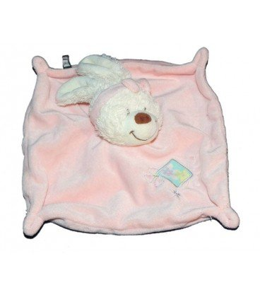 Doudou plana conejo rosa flores Tex Baby Carrefour: Amazon ...
