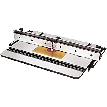 Mlcs 9580 Phenolic Router Table Top X1 Fence And Aluminum