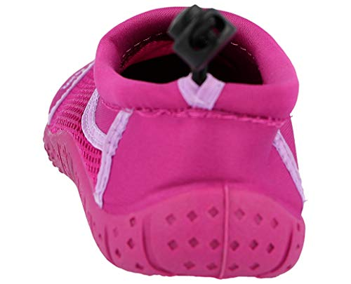 Ladies Socks Girls Pink Kids Toggle Infant Wet Beach Shoes Mesh Water Fuchsia Pool Suit Boys UK 671401 10 Surf Size 9 Aqua qrrBfxwX