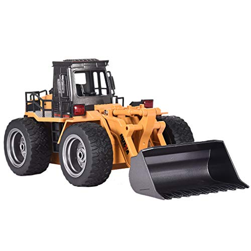 RC Car Toys -1520-1:18-2.4G -6CH -Alloy Bulldozer Truck Engineering Vehicle RC Car Remote Control Forklift Full Functional Professional RC Car By Fashionhe (Club Car Ds Electric To Gas Conversion)