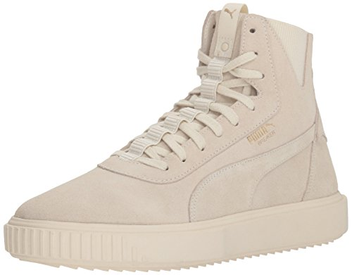 PUMA Men's Breaker Hi Sneaker, Whisper White Whisper White, 10 M US -