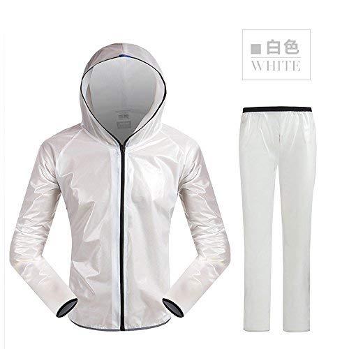 L'environnement Et Pantalon Réfléchissant Imperméables Assainissement Hommes Avertissement Fluorescent Combinaison De Jaune Imperméable Vêtements Blanc Imper Sécurité Femmes Routière Pluie Pour Vert pdtxwqW1Y7