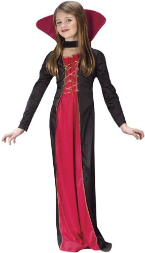 Victorian Vampiress Kids Costume