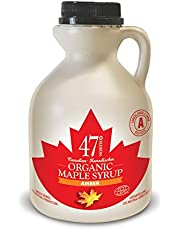 47 North Organic Maple Syrup, Single Source, Grade A, Amber Rich, 500ml