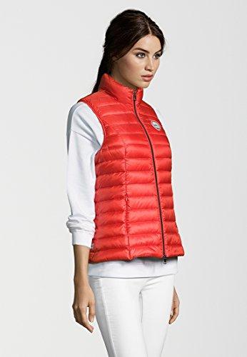 No.1 Como - Chaleco - Básico - Sin mangas - para mujer rojo (sunset)